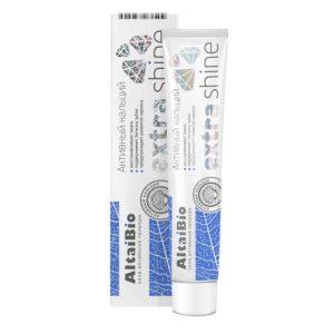 Алтайбио Зубная паста с активными микрогранулами «Экстра отбеливание»